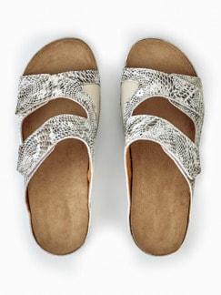 Hallux-Klett-Pantolette Soft Beige Detail 4