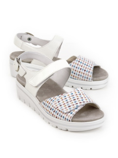 Hallux-Sandale de Luxe Weiß Detail 1