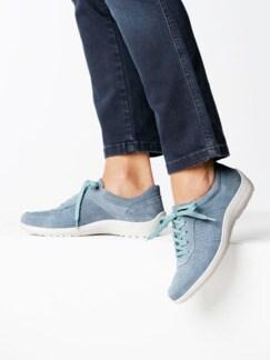 Bequem-Sneaker Rutschsicher Hellblau Detail 3