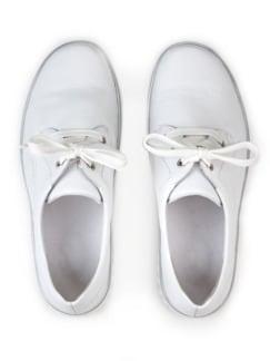 Hallux-Sneaker Extraweit Weiß Detail 3