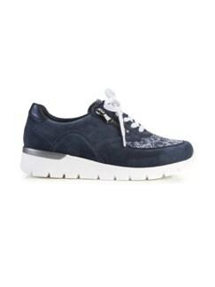 Hallux-Sneaker Extra-Komfort Marine Detail 2