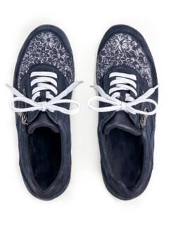 Hallux-Sneaker Extra-Komfort Marine Detail 3