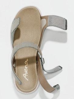 Hallux-Sandale Weichtritt Grau Detail 3