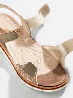 Hallux-Sandale De Luxe Bronze gem. Detail 4