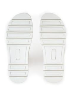 Hallux-Sandale De Luxe Weiß/Silber gem Detail 4