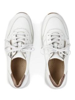Hallux-Sneaker Fußtraum Weiß Detail 3