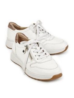 Hallux-Sneaker Fußtraum Weiß Detail 1
