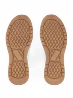 Hallux-Sneaker Fußtraum Weiß Detail 4