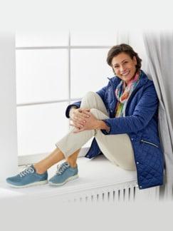 Hallux-Sneaker Leichtgewicht Jeansblau Detail 4