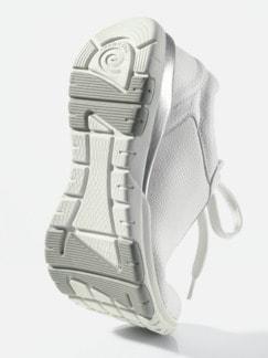 Hallux-Sneaker Softness Weiß Detail 3