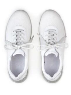 Hallux-Sneaker Softness Weiß Detail 4