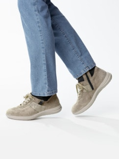 Avena-Sneaker Umknickschutz Beige Detail 3