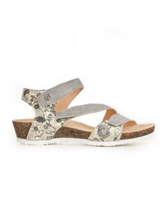 Think-Klett-Sandale Grau Detail 2