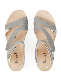 Think-Klett-Sandale Grau Detail 4