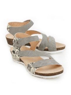 Think-Klett-Sandale Grau Detail 1
