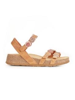 Think-Komfort-Sandale Braun Detail 2