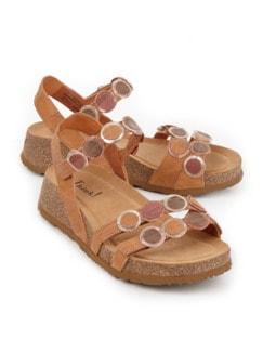 Think-Komfort-Sandale Braun Detail 1
