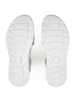 Hallux-Sandale Hüftschwung Silber Detail 4