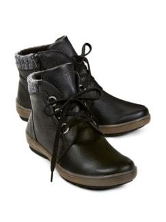 Hallux-Boots Thermoleicht Schwarz Detail 1