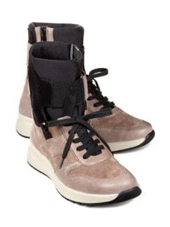Avena-Sneaker Umknickschutz Trendy Taupe Detail 1