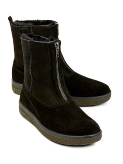 Green Comfort-Boots Energy Schwarz Detail 1