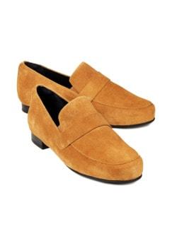Hallux-Loafer Zehenkomfort Gelb Detail 1
