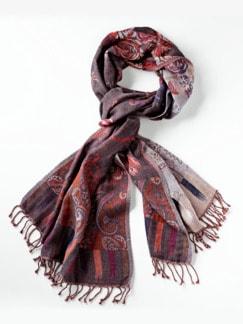 Jacquard-Schal Floral