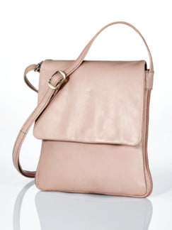 Leder-Handtasche Every Day Altrosa Detail 1
