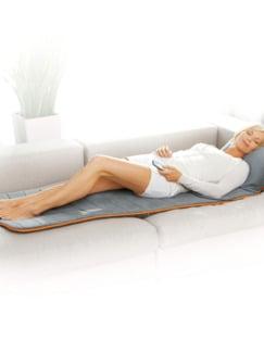 Wellness-Massagematte Grau/Orange Detail 2