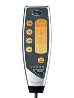 Wellness-Massagematte Grau/Orange Detail 3
