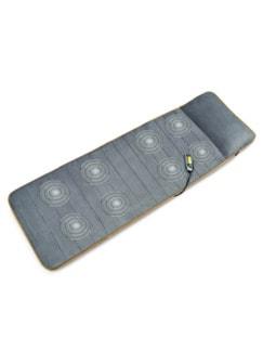 Wellness-Massagematte Grau/Orange Detail 4
