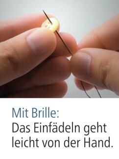 LED-Vergrößerungsbrille Schwarz Detail 2