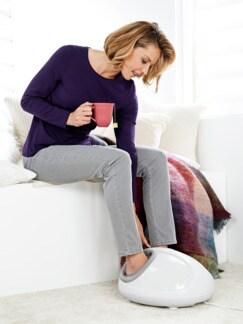 Fuß-Massagegerät de Luxe Weiß Detail 2