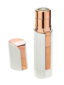 Lady-Pocket-Shaver Weiß/Rosegold Detail 1