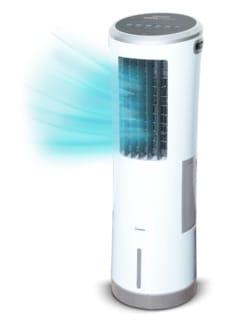 Klima-Tower Weiß Detail 1