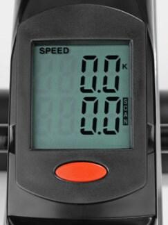 2in1 Mini-Heimtrainer Grau Detail 3