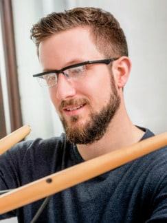 Nah- und Fernsicht-Brille Schwarz Detail 2