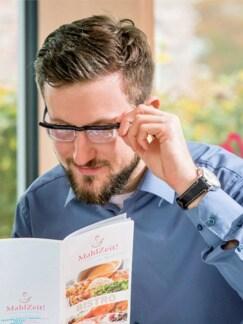 Nah- und Fernsicht-Brille Schwarz Detail 4