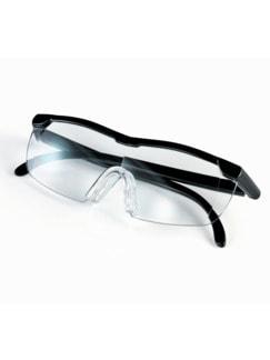 Vergrößerungsbrille Schwarz Detail 1
