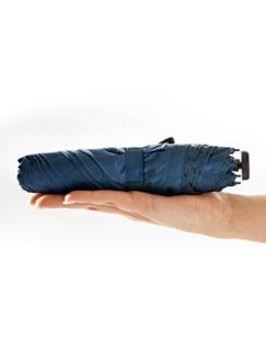 Mini-Taschenschirm Dunkelblau Detail 4