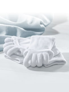 Zehenspreizer-Socke Wellness Weiß Detail 1