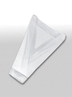 Euron-Herren-Vliestasche Weiß Detail 1