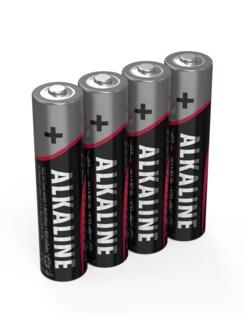 Micro-Batterien AAA 4-er Blister