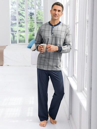 Baumwoll-Schlafanzug Gentleman
