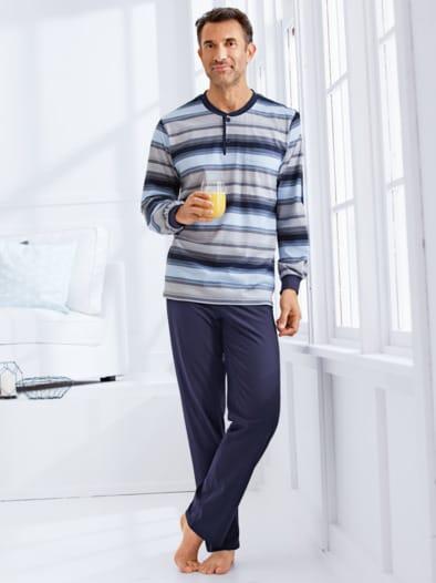 Baumwoll-Schlafanzug Supersoft