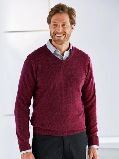 Kaschmir-Seide-Premium Pullover