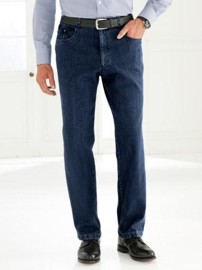 herren thermo jeans 5 pocket blau im online shop bequem kaufen avena. Black Bedroom Furniture Sets. Home Design Ideas