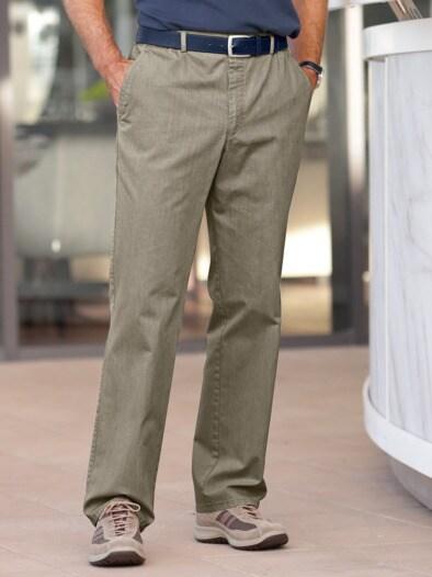 Baumwoll-Komfortbundhose