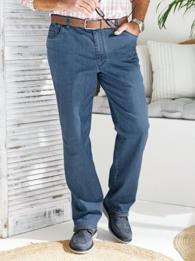 Baumwoll-Jeans Highstretch