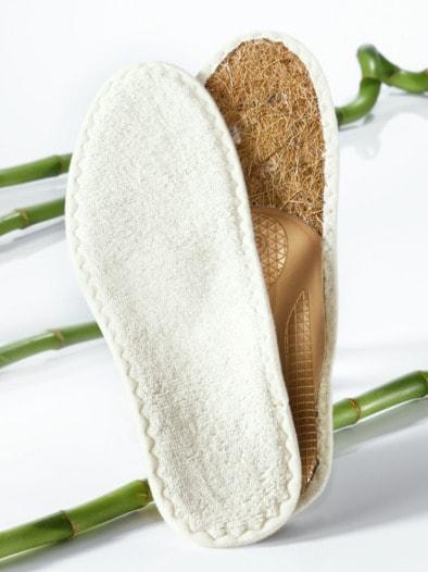Barfuß-Bambus-Sohle